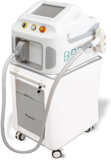 Máquina de depilación de diodo láser